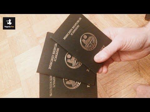 Паспорт и деньги Чеченской Республики Ичкерии