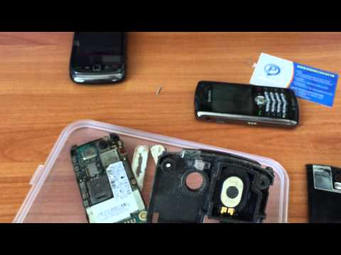 Sua chua BlackBerry 8100, 8110, 8120 Pearl