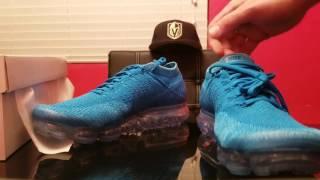 Nike Air VAPORMAX Blue Orbit review/on feet