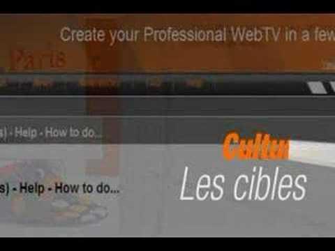 WebTV-Tools Créer web tv, web radio, live ou on demand
