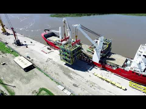 HHL Fremantle - Transport of five large FPSO units from Brazil to China