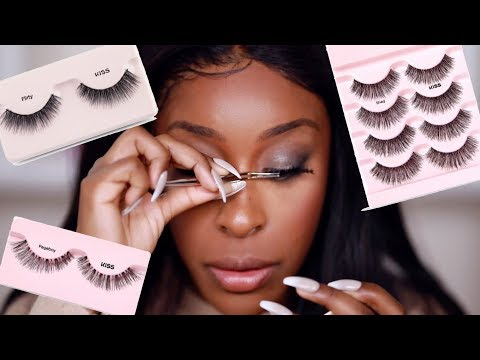 Viral Eyelash Hack TESTED! DOES IT WORK THO?!!   Jackie Aina
