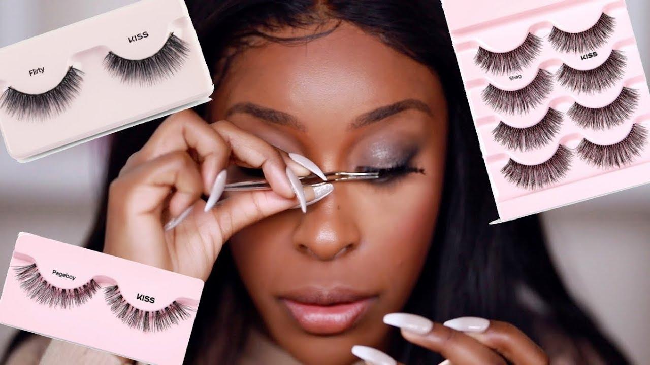 3552f0ac098 Viral Eyelash Hack TESTED! DOES IT WORK THO?!!   Jackie Aina - YouTube
