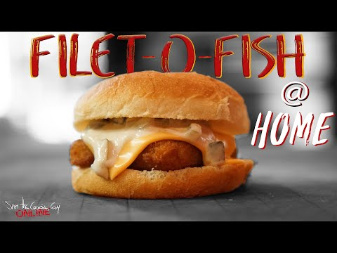 Crazy Easy Filet-O-Fish Recipe | SAM THE COOKING GUY
