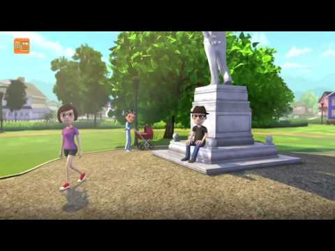 Horn blow song by talking tom funny video