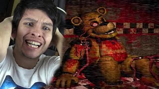 ¿EL GUARDIA SE METIÓ EN EL CUERPO DE GOLDEN FREDDY? - Five Nights At Freddy's Golden Memories