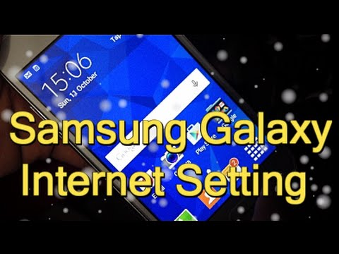 Samsung Galaxy Manual Internet Settings | Data Configuration,APN,3G,4G Internet 2016