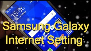galaxy manual internet settings   data configuration apn internet 2016
