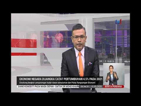 12 MAC 2020 BERITA PERDANA-EKONOMI NEGARA DIJANGAK CATAT ...