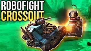 Crossout Robofight: ВЕСЕЛЬЧАК vs ПОДЖИГАТЕЛЬ