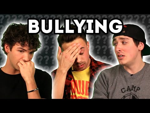 Gay Men Answer Bullying Questions