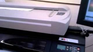 HP DesignJet Copier CC800PS Scanning