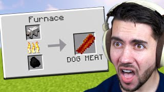 I Opened A Restaurant Where YOUR PETS Are The Main Course (Minecraft)