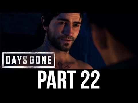 DAYS GONE Part 22 Gameplay Walkthrough - POWER BACK ONLINE (Full Game)