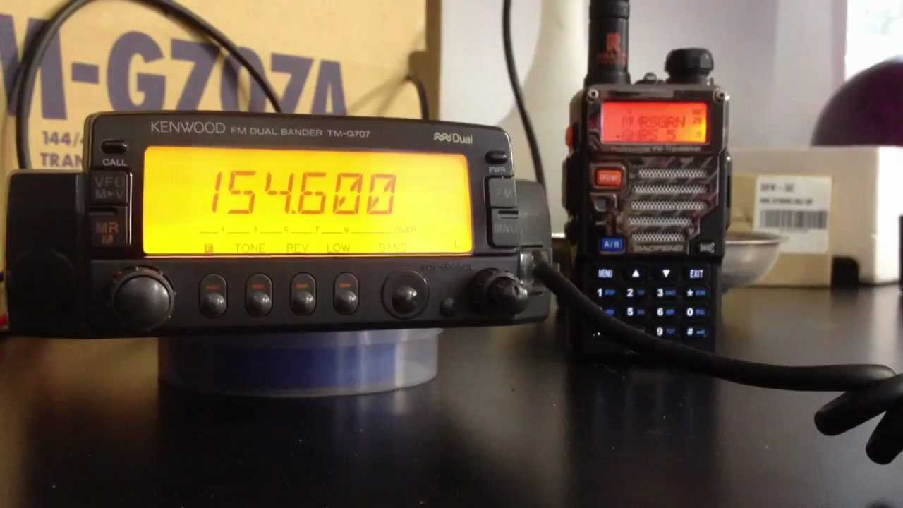 Kenwood TM-G707 mods