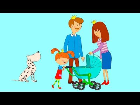 Жила-была Царевна 👶 Настоящий малыш - Новая серия 👑 Мультики для детей | Премьера!