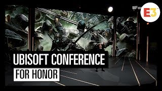 #10 For Honor : Marching Fire - Ubisoft E3 2018 Conference