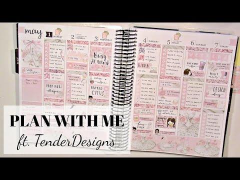 Erin Condren Plan With Me ft. TenderDesigns