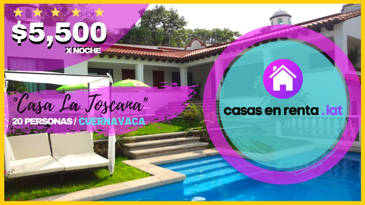 Casa de fin de semana en cuernavaca fs41 youtube - Casas para fines de semana ...