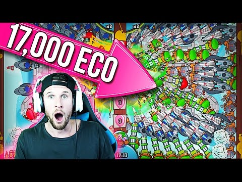 EPIC LATE GAME :: Bloons TD Battles :: 17,000 ECO!