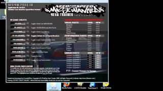Need for Speed MW trainer Test
