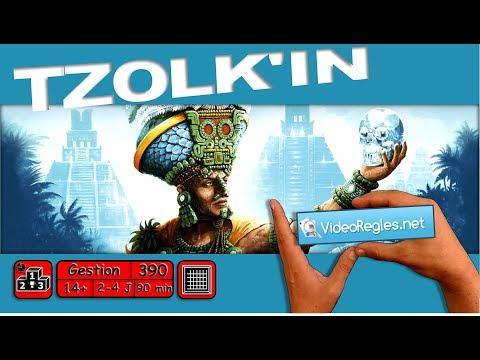 "Vidéorègle jeu de société "" Tzolk'in "" par Yahndrev (#390) (+sub)"