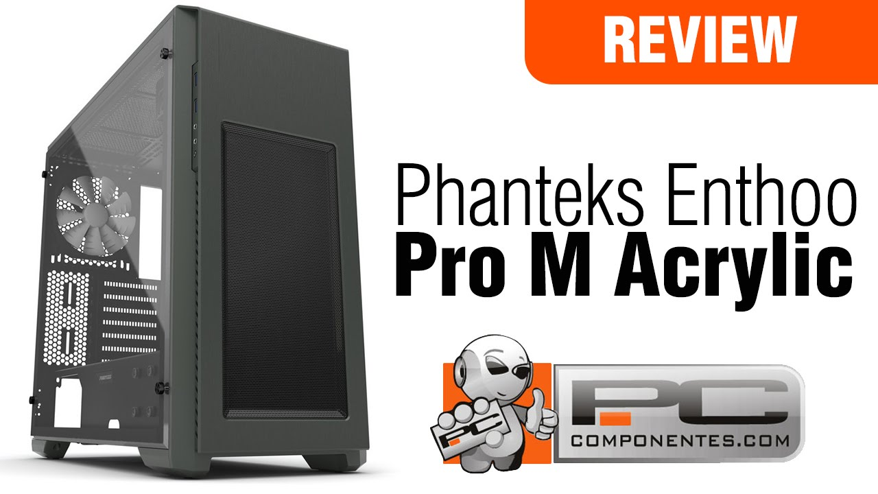 73cece693db Phanteks Enthoo Pro M Acrylic - YouTube
