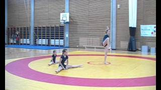 AKRO2007 Grade 1 - Johanna, Tea ja Eva Mari - OMAtsirkus - II kaamera