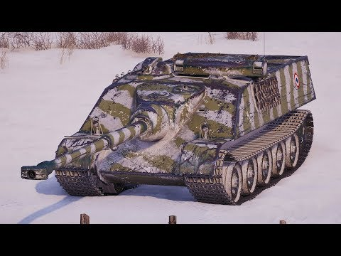 World of Tanks AMX 50 Foch - 12 Kills 8,3K Damage (1 VS 5)
