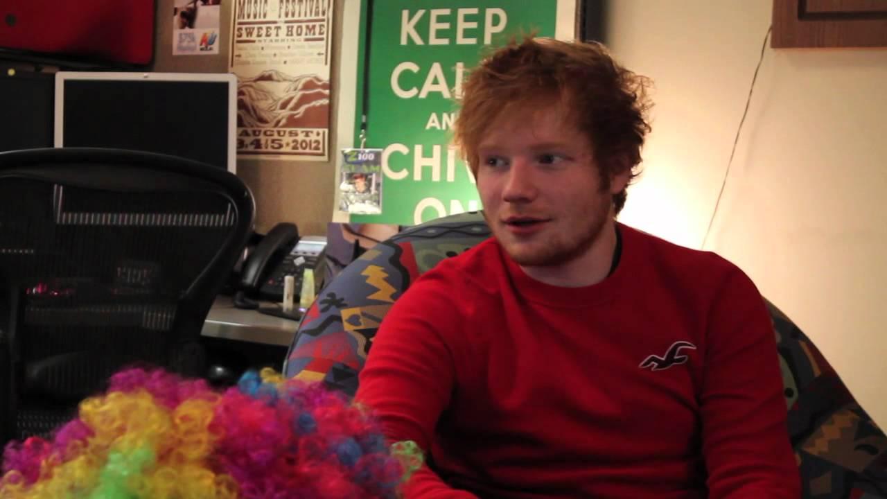 Ed Sheeran Interview Deutsch