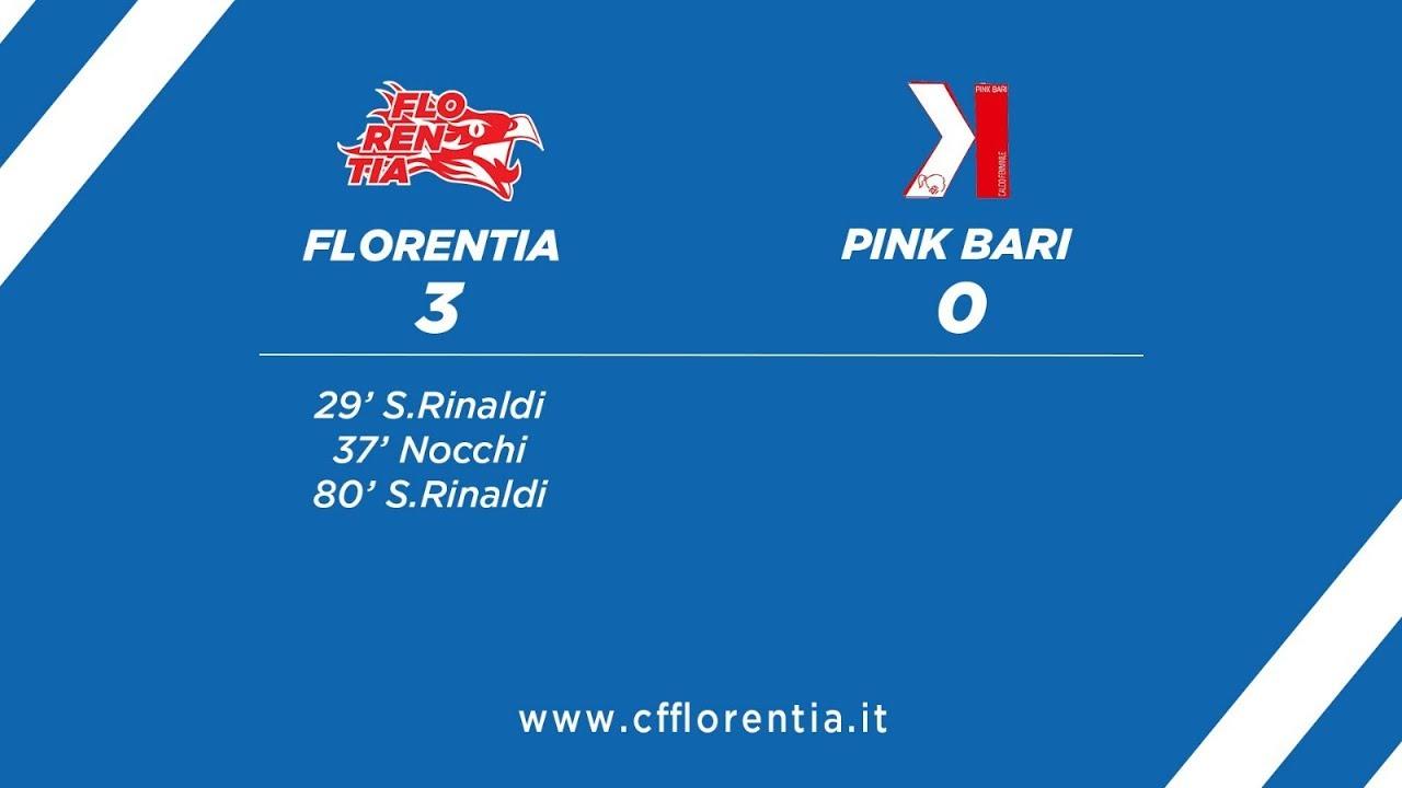 Florentia vs Pink Bari 3 - 0