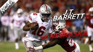J.T. Barrett Highlights vs Nebraska // 27/33 325 Yards, 7 Total TDs // 10.14.17