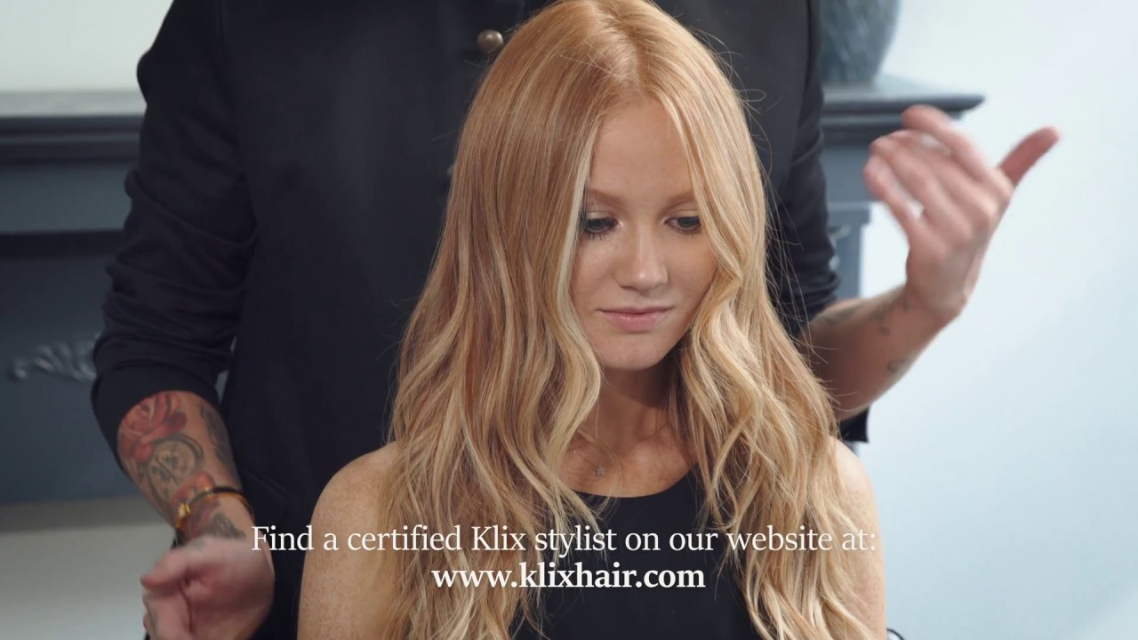 How To Care For Klix Hair Extensions Youtube