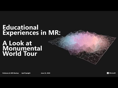 Educational Experiences in Mixed Reality
