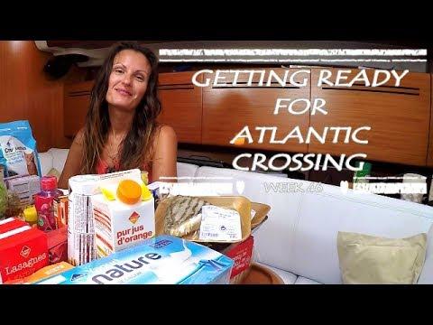 Getting Ready for Atlantic Crossing by Sailing JAEKA, week 46