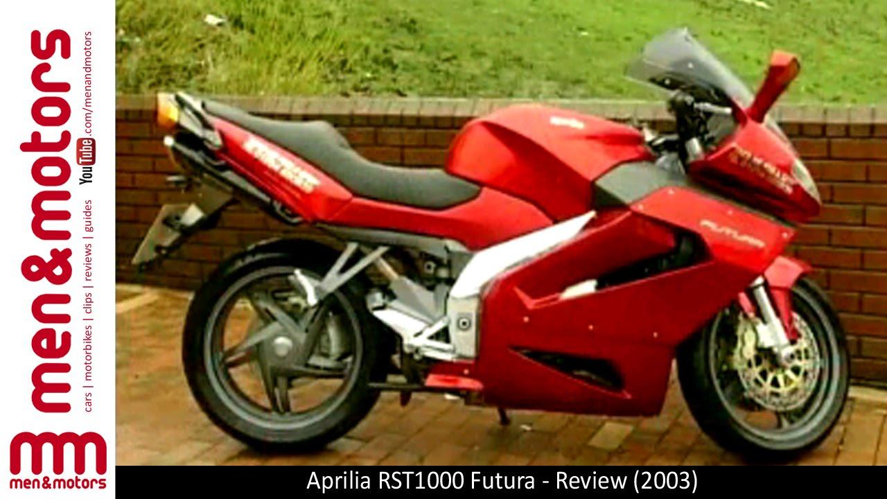 Aprilia Rst1000 Futura Review 2003 Youtube
