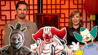 Can 'IT Chapter Two' Stars Name That Clown?