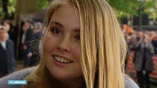 Populariteit prinses Amalia flink gestegen na Koningsdag