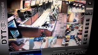 Subway restaurant robbery at Long Beach California
