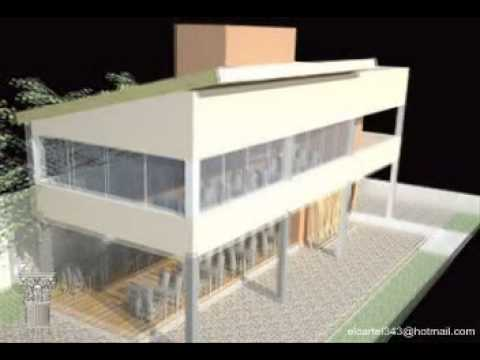 Video proyecto arquitectura 3d local comercial youtube for Local arquitectura