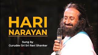 Hari Narayan | Sung by Gurudev Sri Sri Ravi Shankar #Flashback