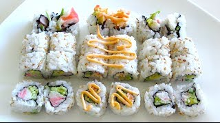 California Roll Recipe - 3 WAYS!
