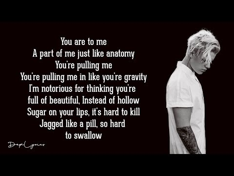 Justin Bieber - The Feeling (Lyrics) ft. Halsey