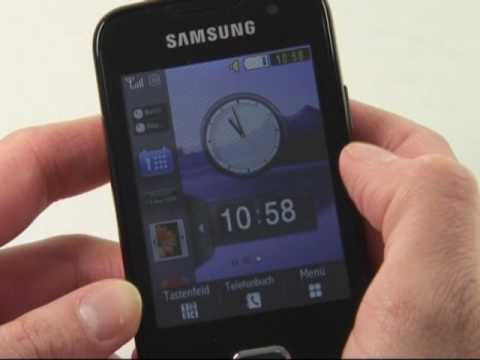 Samsung S5600 Test Bedienung