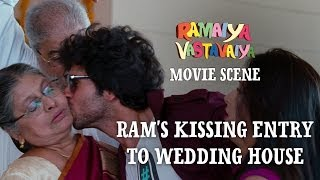 Video Ram's Kissing Entry to Wedding House - Ramaiya Vastavaiya Scene - Girish Kumar download MP3, 3GP, MP4, WEBM, AVI, FLV Januari 2018