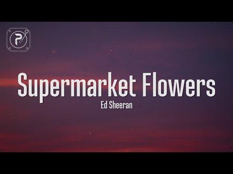Supermarket Flowers - Ed Sheeran (Lyrics)