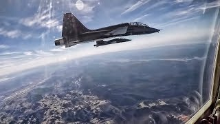 T-38 Talon Flight Over Northern California
