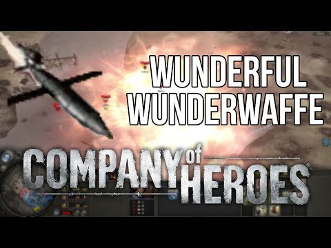 Using the Wonderful Wunderwaffe in Company of Heroes