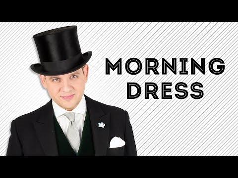 Morning Dress - Morning Wear - Morning Coat, Suit Or Cut : Dress Code - Gentleman's Gazette