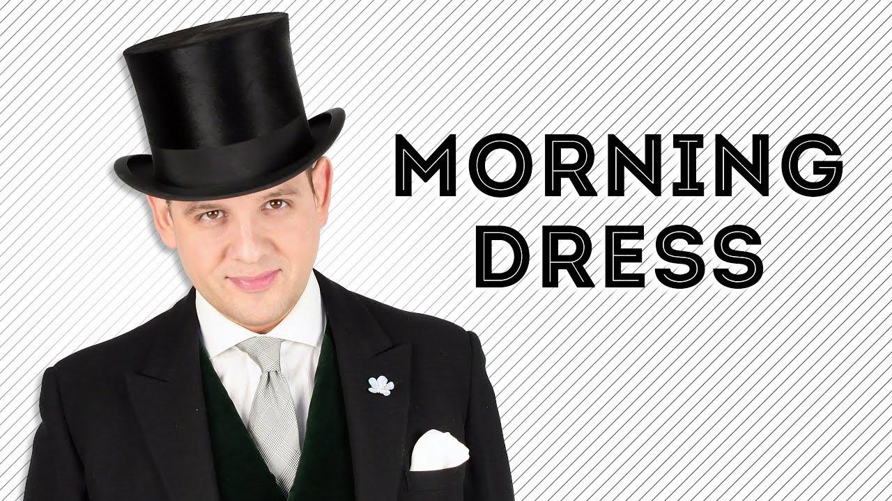 c973ba250 Morning Wear Guide — Gentleman's Gazette